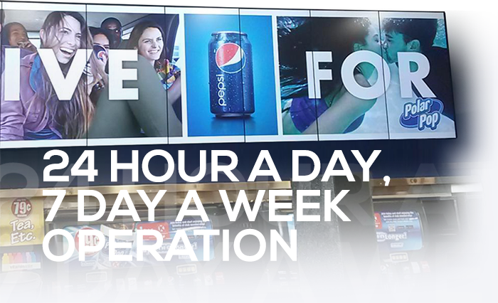 24 Hour A Day Operation