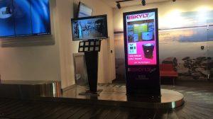 Interactive Kiosk - Airport