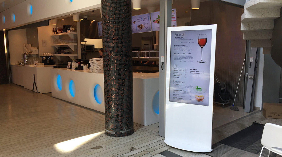 Interactive Kiosk - Menu Board