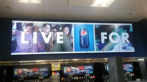 Video Wall - Food & Beverage