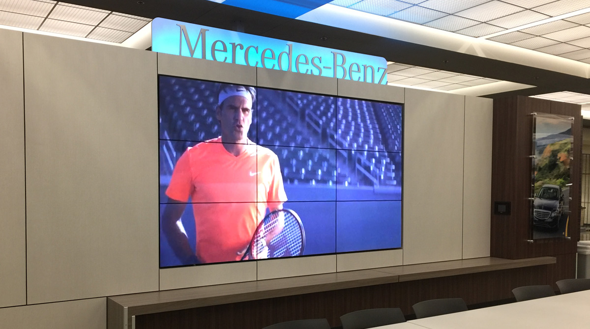 Video Wall - Mercedes