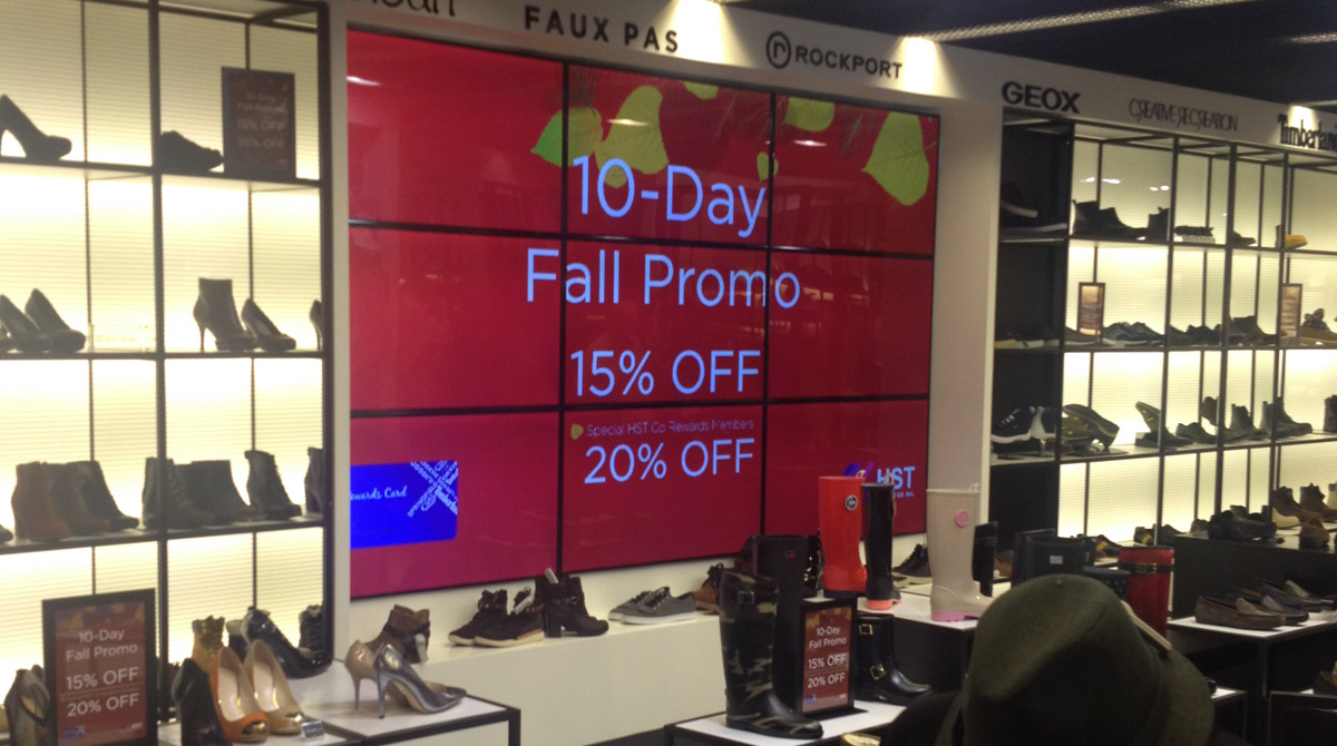 Retail Digital Signage Mediatile North America Displaying 20 Gallery Images For Electrical Outlet 3