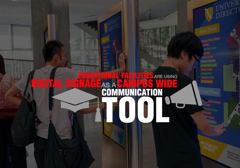 education using digital signage
