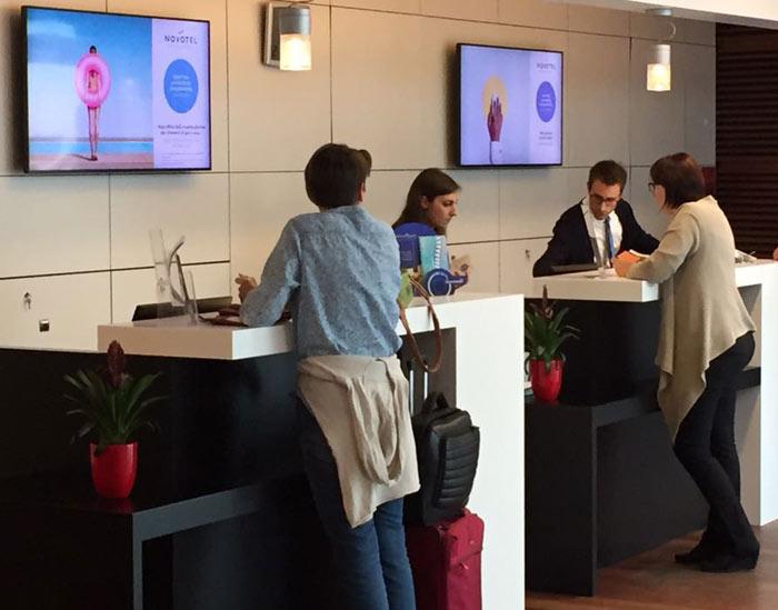 hospitality digital signage