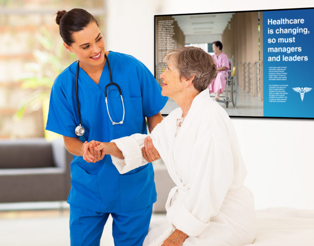 healthcare digital signage