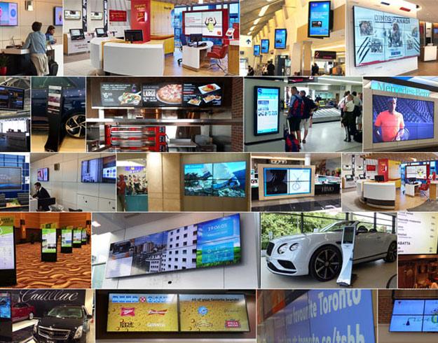industries digital signage