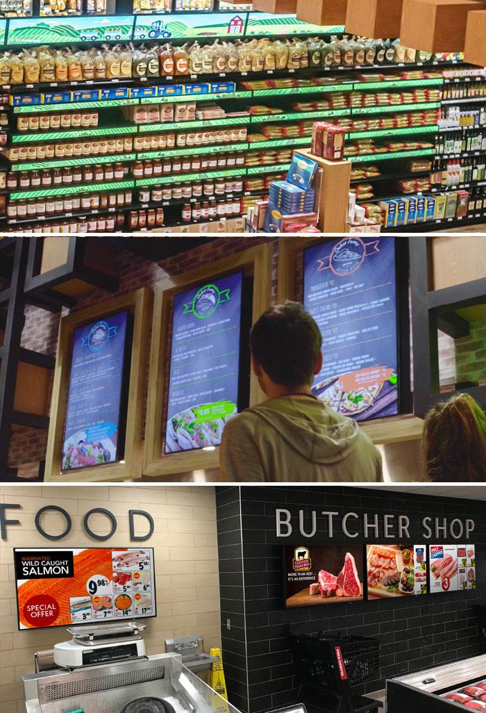 digital signage FOOD & BEVERAGE