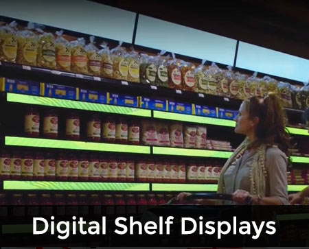 Digital-Shelf-Displays