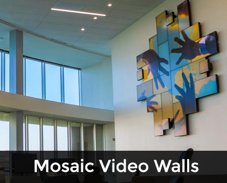MOSAIC VIDEO WALLS
