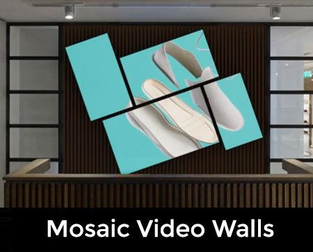 MOSAIC VIDEO WALLS