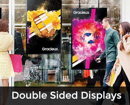 double sided window display