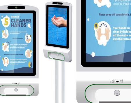 hand sanitizer kiosks blog post
