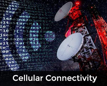 Cellular Connectivity button