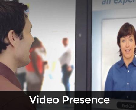 VIDEO PRESENCE button 2