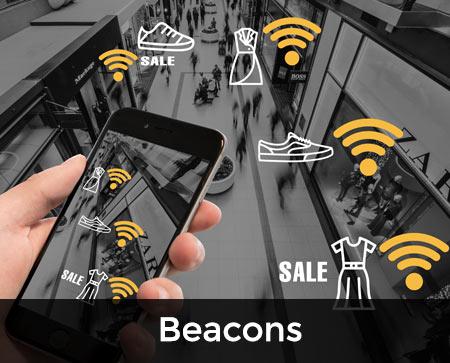 beacons button