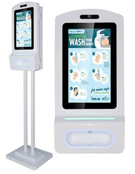 """Hand Sanitizer Kiosk 15"""""""