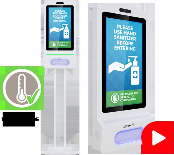 hand sanitizer kiosk 22