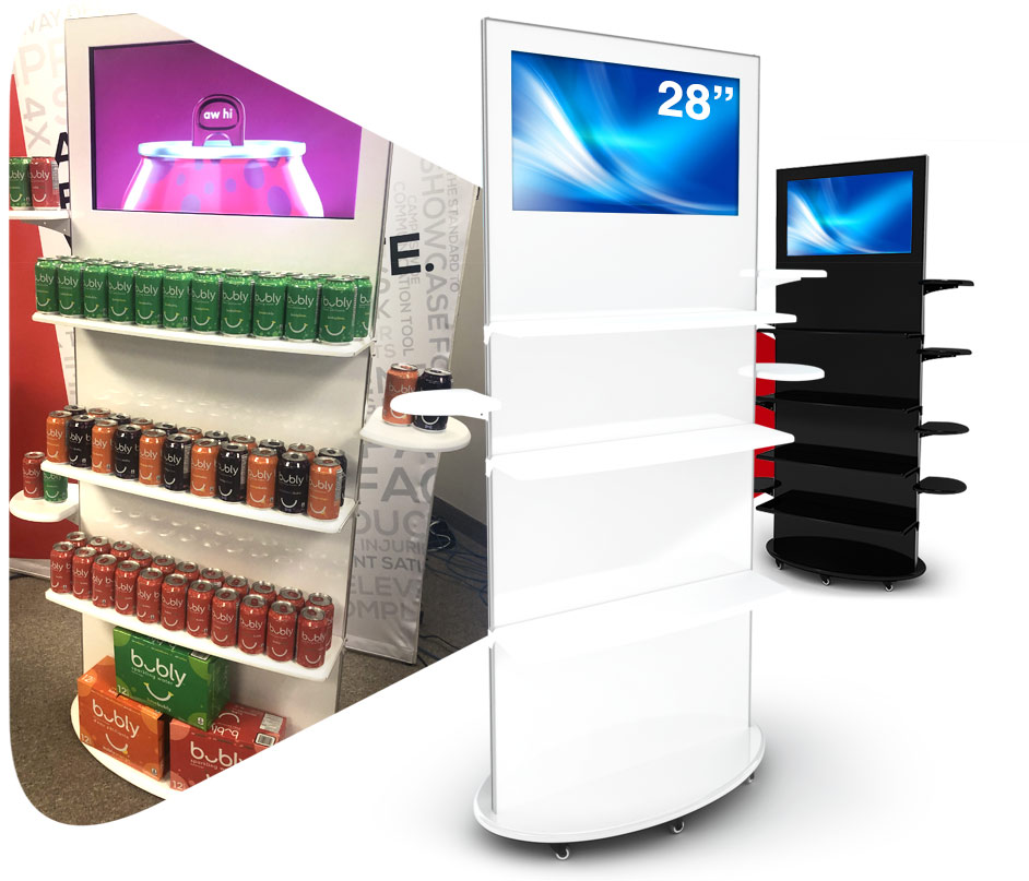 "lamina 28"" digital kiosk"