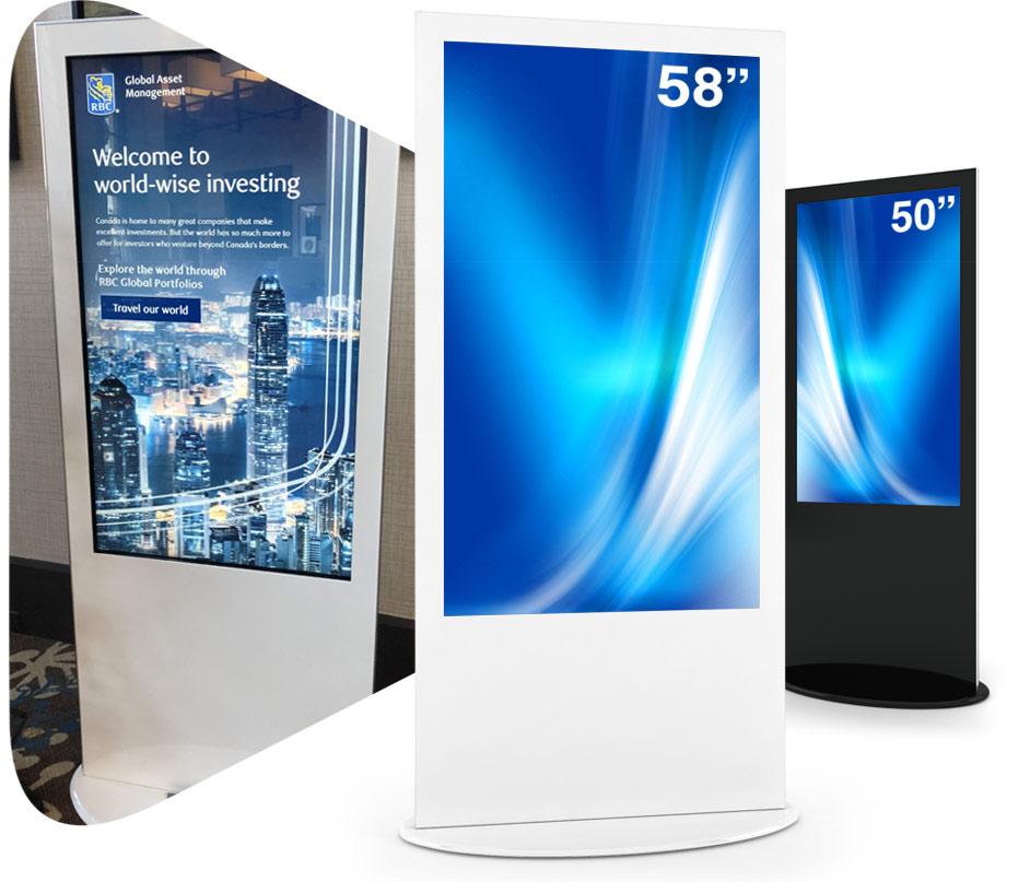 "lamina 50-58"" kiosk header"